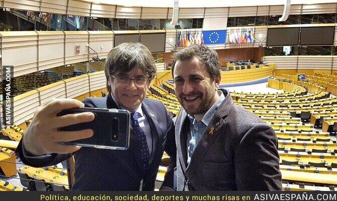130078 - Puigdemont y Comín ya pueden entrar al Parlamento Europeo; otra derrota de la