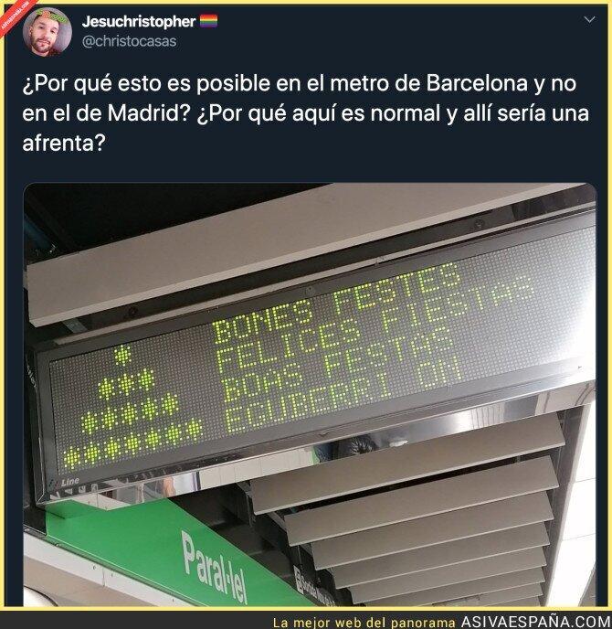 130386 - Hay mucho más respeto en Barcelona que en Madrid