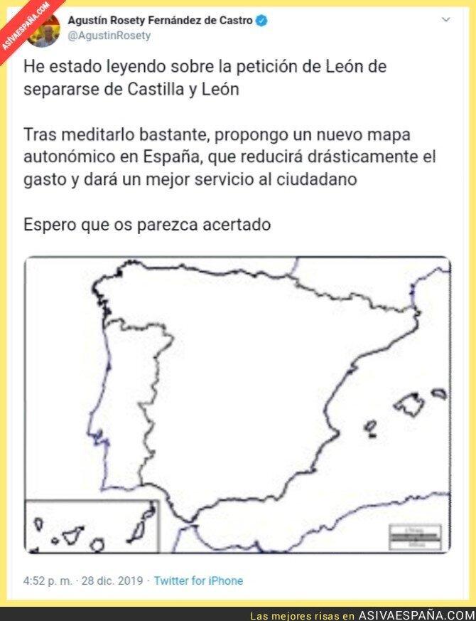 130510 - El mapa político que garantiza la igualdad entre españoles