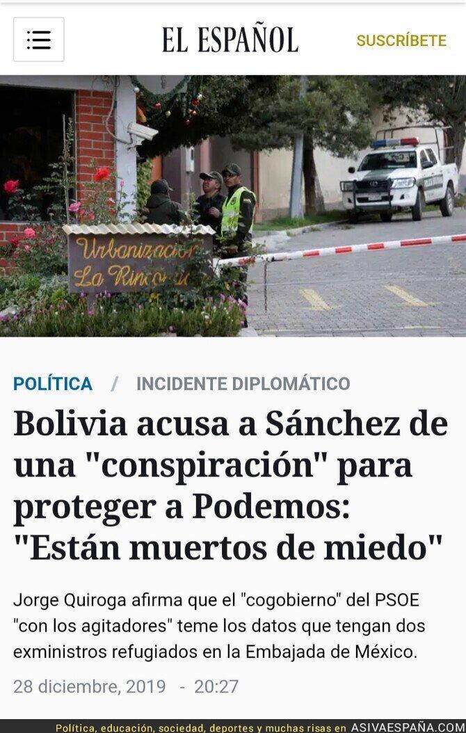 130567 - En Bolivia conocen muy bien a Podemos y Más Madrid