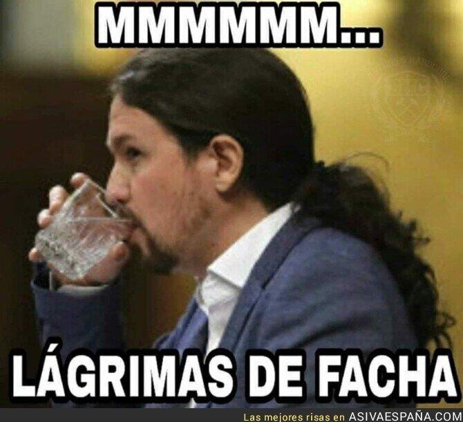 130653 - Pablo Iglesias está disfrutando con el Gobierno de coalición de PSOE-Podemos
