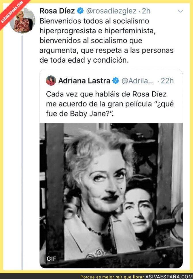 130821 - Adriana Lastra ataca a Rosa Díez por dar su opinión