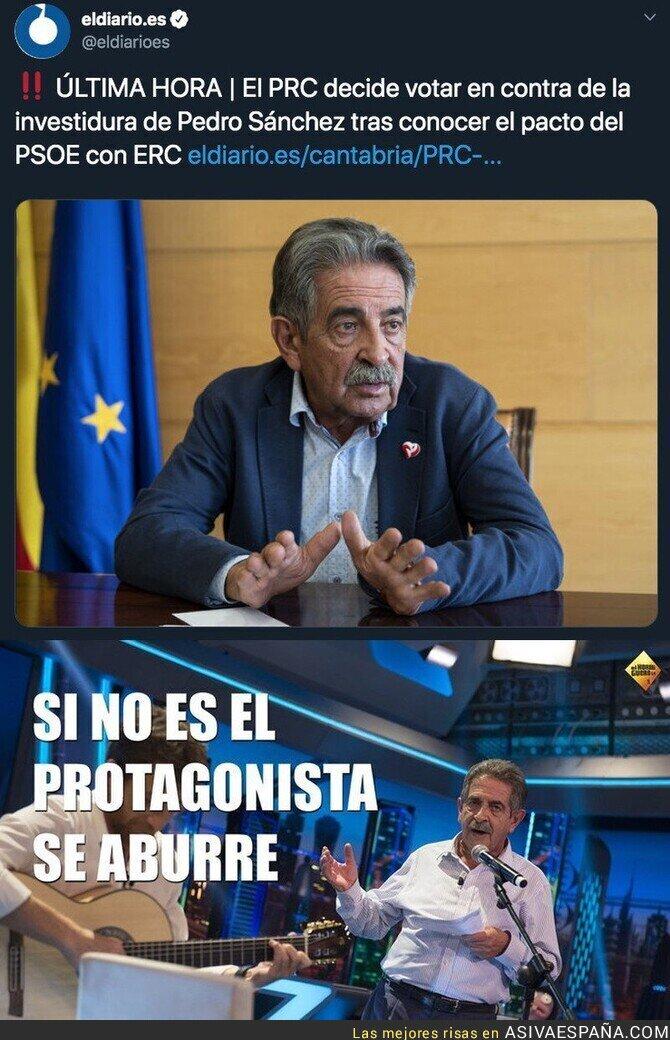130925 - Miguel Ángel Revilla se une a VOX y votará no a Pedro Sánchez