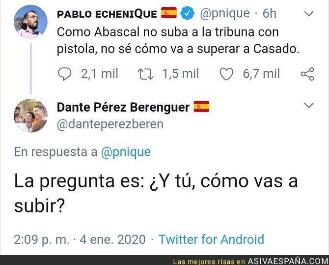 131090 - La polémica respuesta de un ex diputado de Lleida del Partido Popular a Pablo Echenique