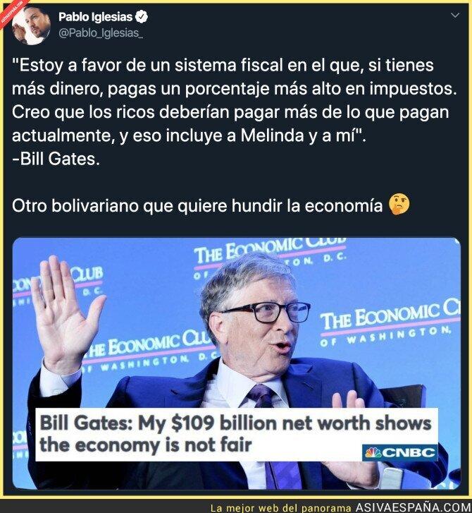 131286 - Bill Gates es un podemita