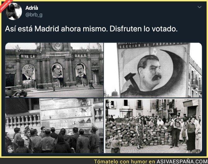 131436 - Imposible la convivencia en Madrid