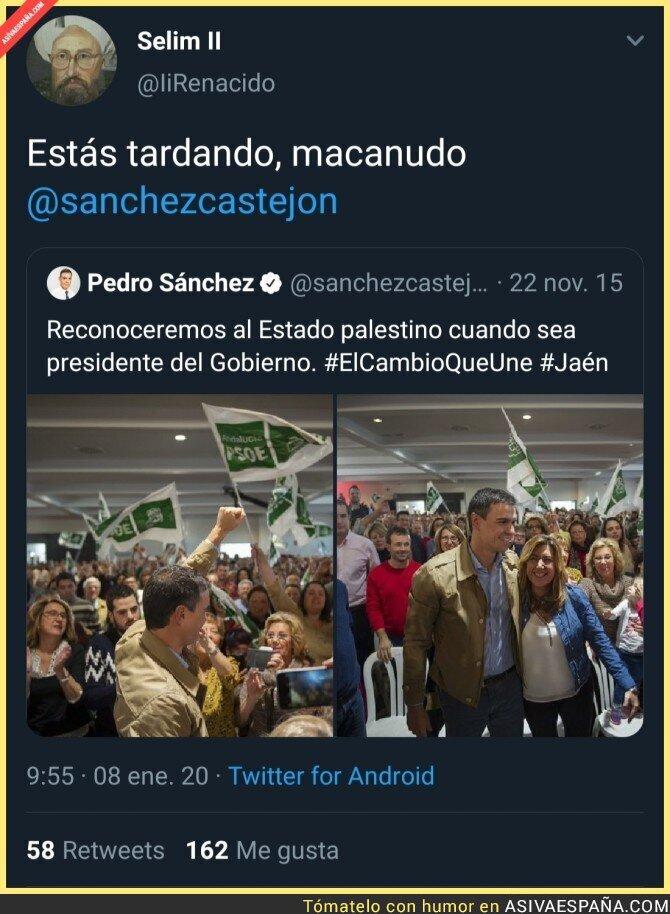 131455 - ¿Esta ya es la primera promesa del PSOE sin cumplir?