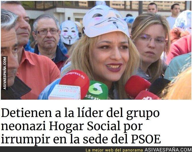 131548 - Asaltan y atacan sedes del PSOE, esto no ocurría ni con HB