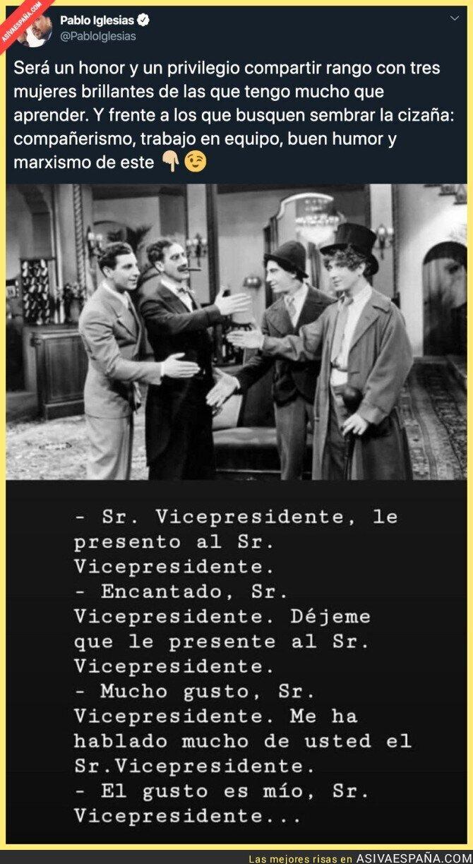 131831 - Pablo Iglesias toma su cargo como vicepresidente