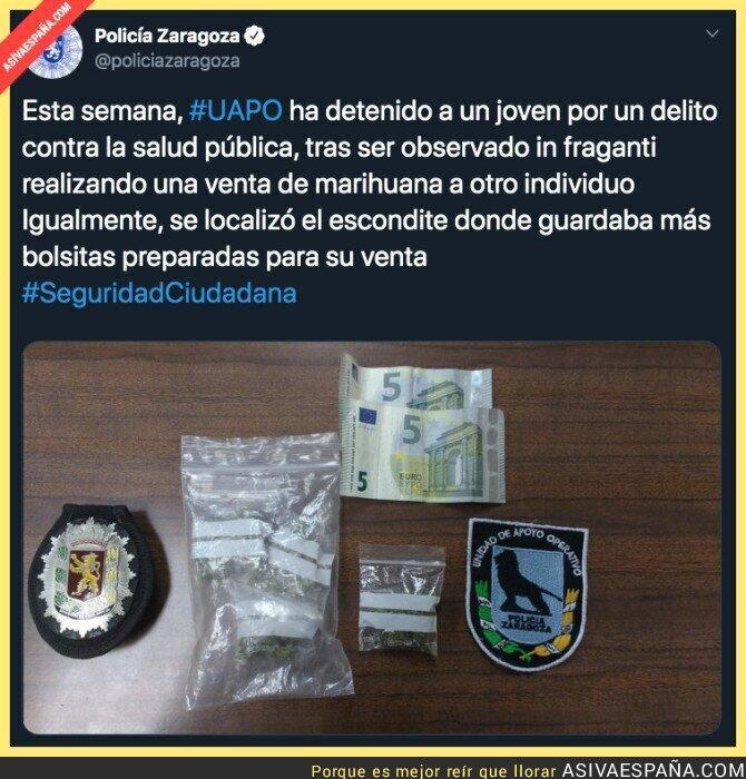 132285 - Gran trabajo de la Policía de Zaragoza