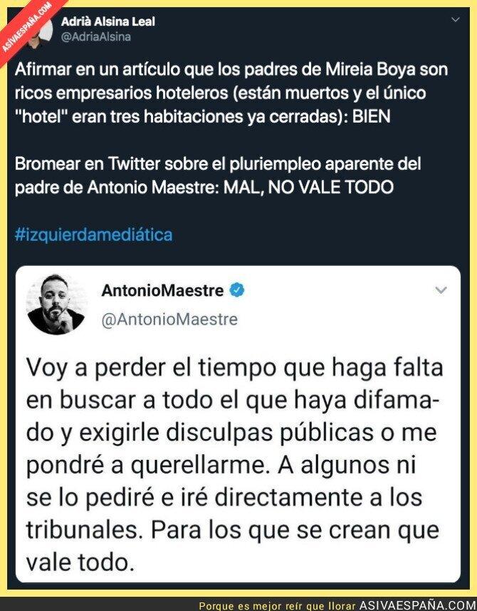 132291 - El doble rasero de Antonio Maestre