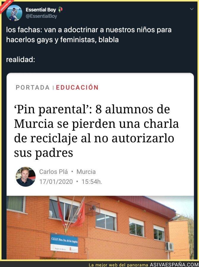 132484 - Todo bien con el PIN Parental por Murcia