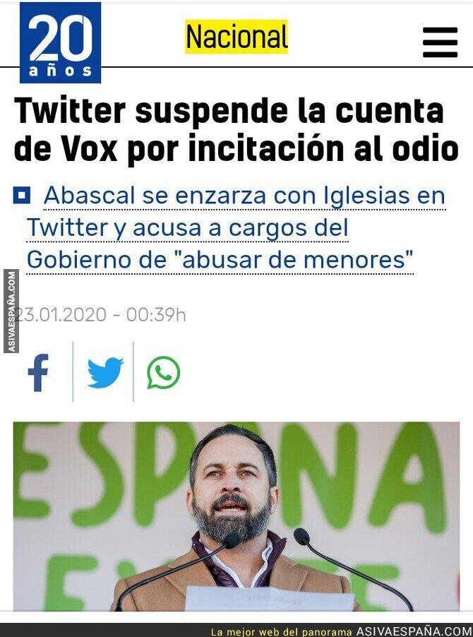 132731 - Twitter también cree que son fascistas