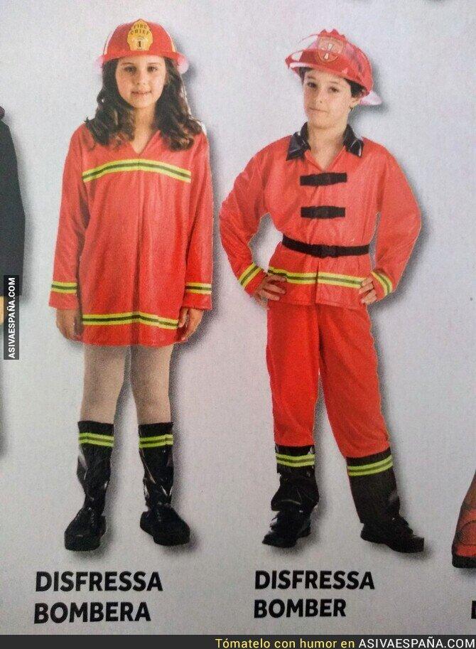 133967 - Las bomberas no llevan pantalones