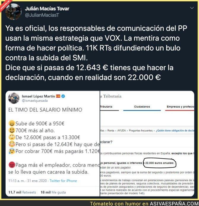 134019 - PP y VOX juegan con la ignorancia de la gente