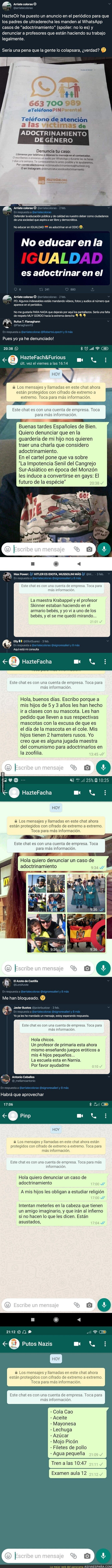 134245 - 'HazteOír' anuncia su teléfono en un periódico y Twitter se organiza para trolearle de la mejor forma dejándole todos estos mensajes