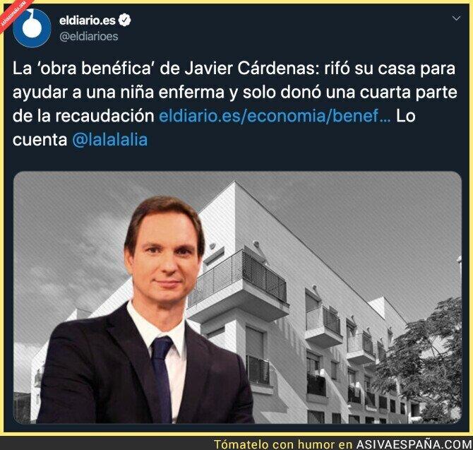 134825 - Javier Cárdenas y sus valores