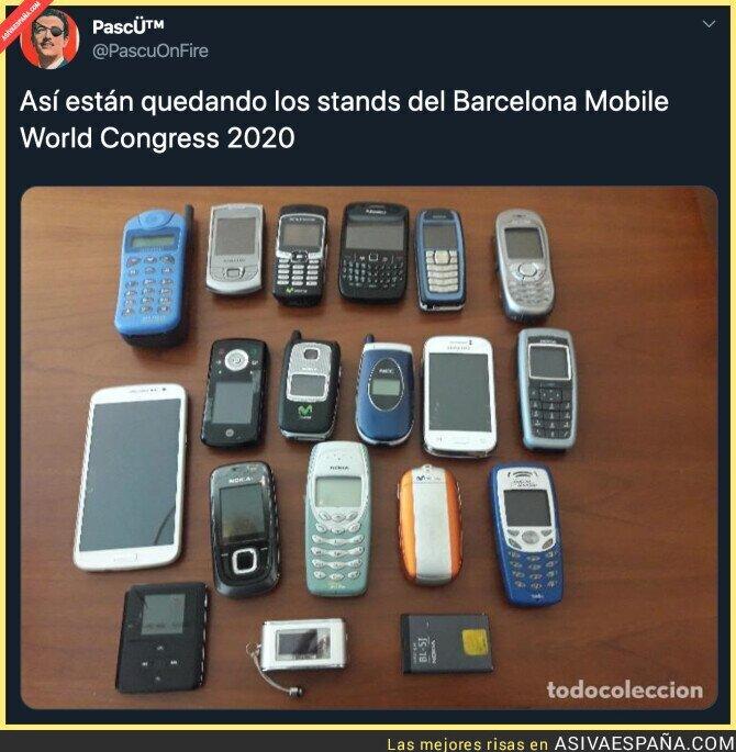 134918 - Con tanta cancelación el Mobile World Congress va a ser un gran fracaso