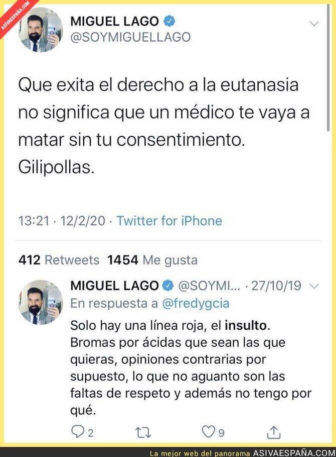135131 - Miguel Lago no pone en práctica sus leciones