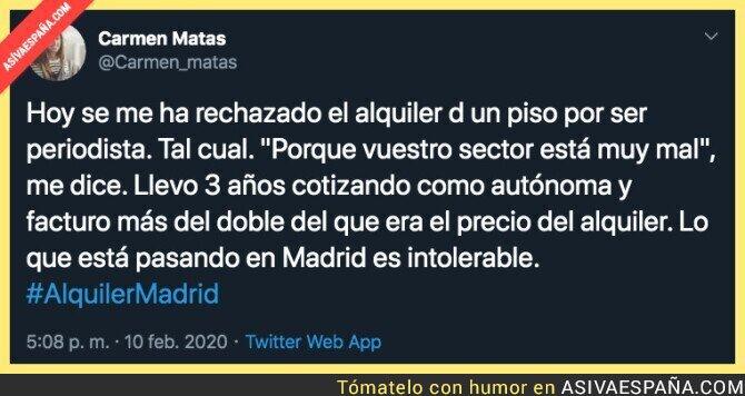 135148 - La dramática situación del alquiler en Madrid