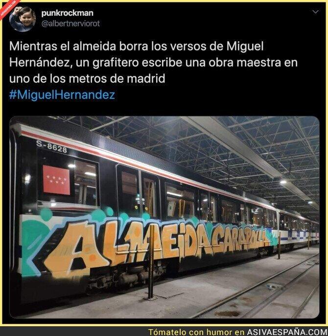 135701 - Un gran arte en el transporte público de Madrid
