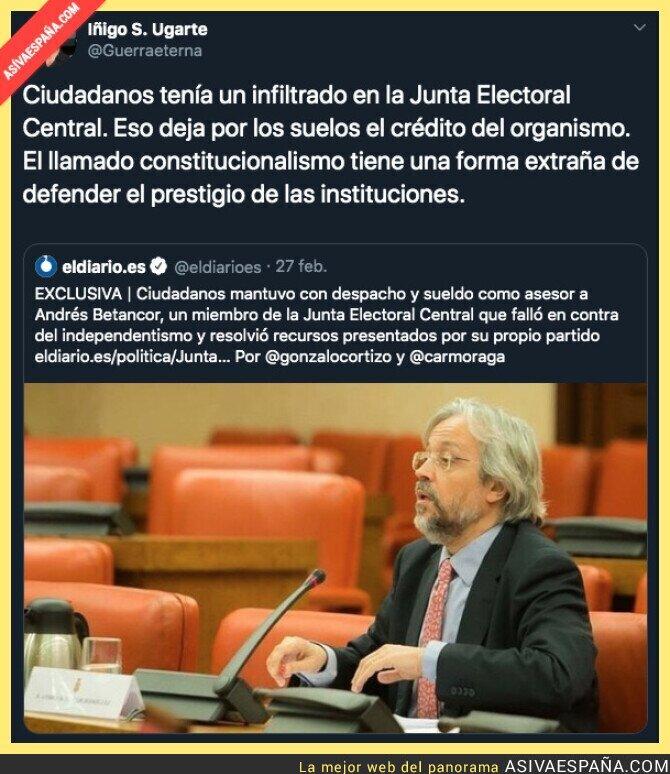 136422 - ¿La credibilidad de la Junta Electoral Central?