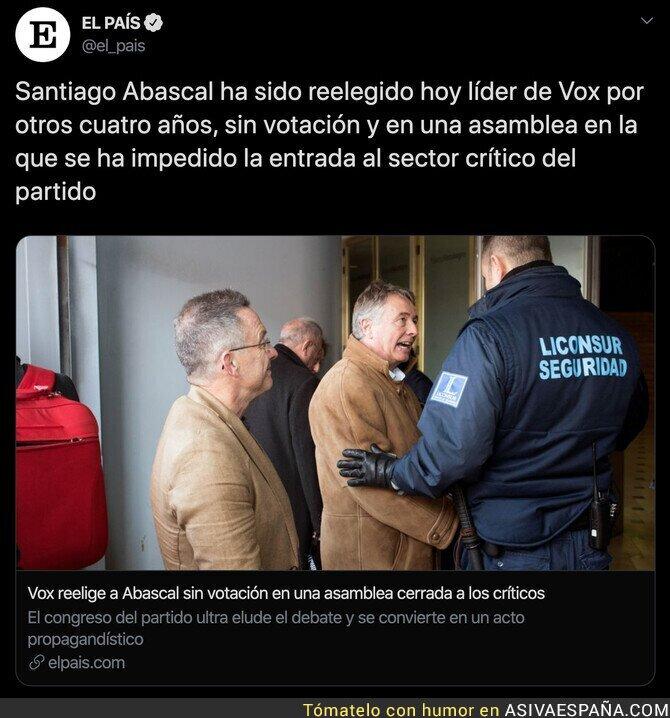 137196 - La dictadura que hay en VOX de la mano de Santiago Abascal