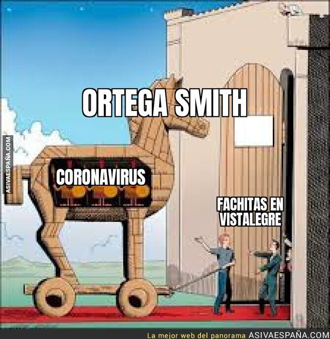 137412 - Ortega Smith pilla el coronavirus