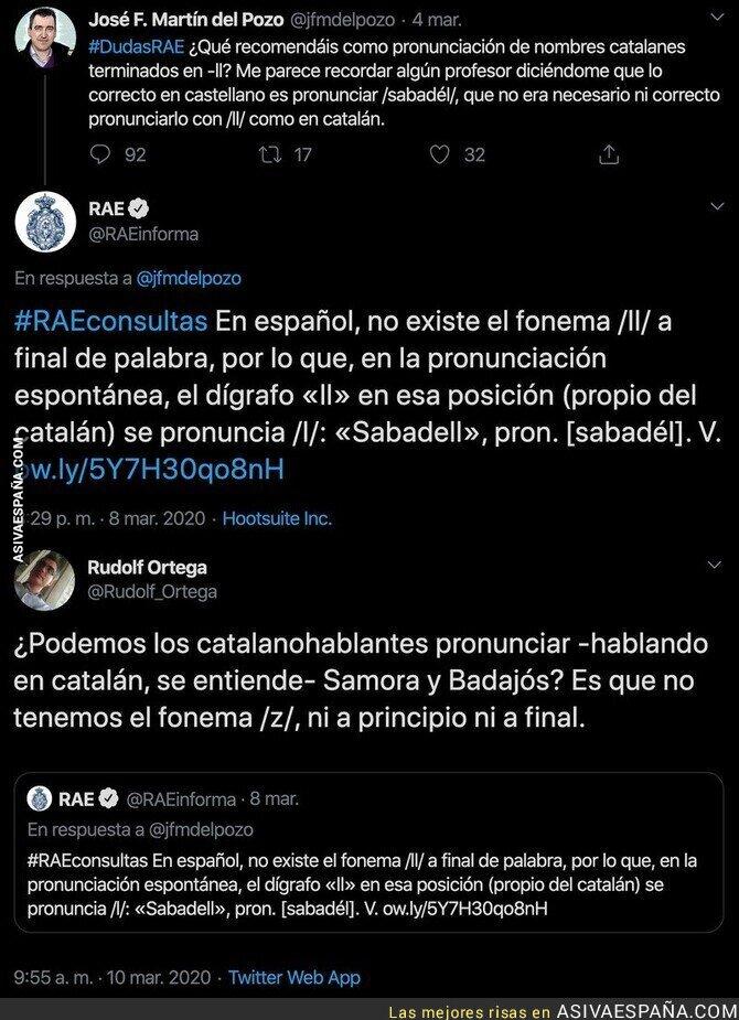 137521 - La gran respuesta a la RAE tras decir que en español no existe el fonema /ll/