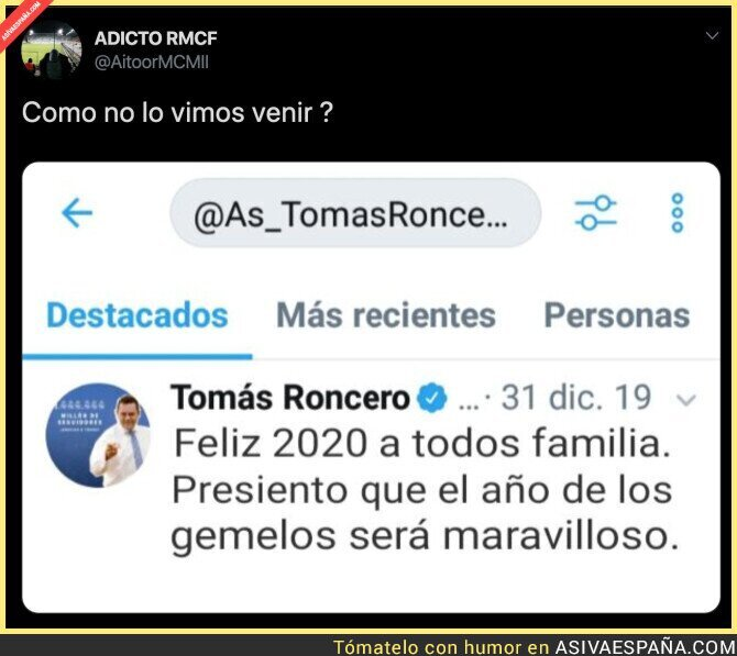 138370 - Tomás Roncero gafó por completo todo el año