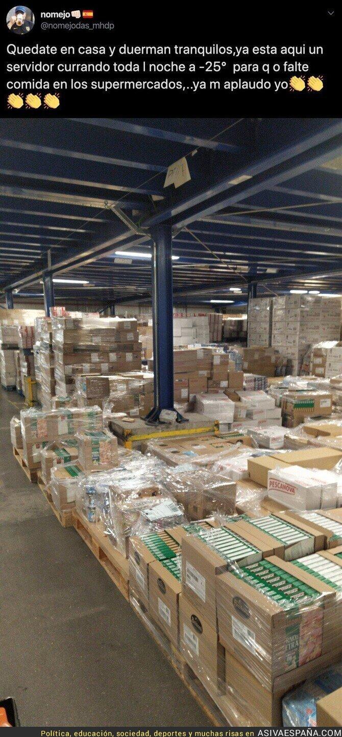 138371 - El gran trabajo que hacen los trabajadores en las empresas de comida