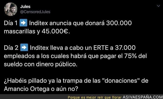 138819 - No cuela, Amancio Ortega, no cuela