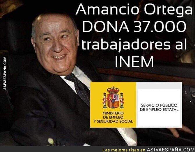138830 - ¡Gracias Amancio Ortega!