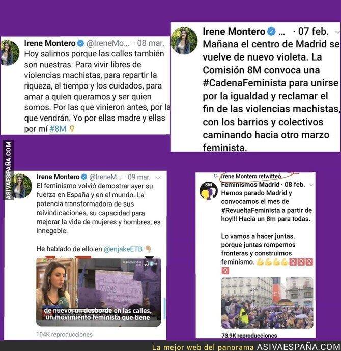 139940 - Irene Montero no quiere que recuerdes estos tuits suyos