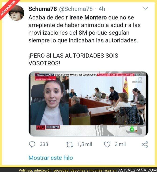 139945 - La lógica de Irene Montero