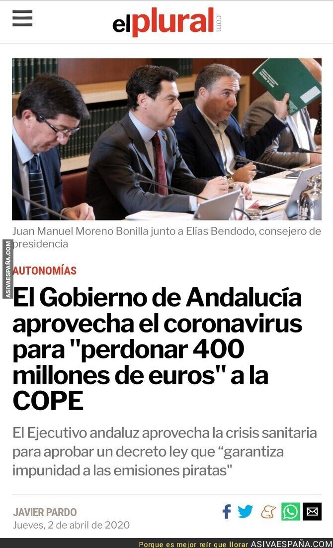 141506 - Luego lloramos por 6 millones de euros de rescate a TDTs