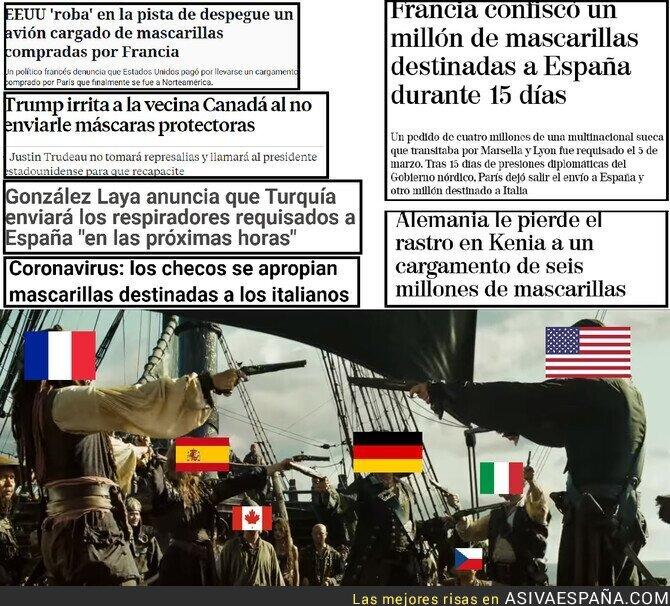 142122 - La nueva piratería moderna. Todos los países enfrentados