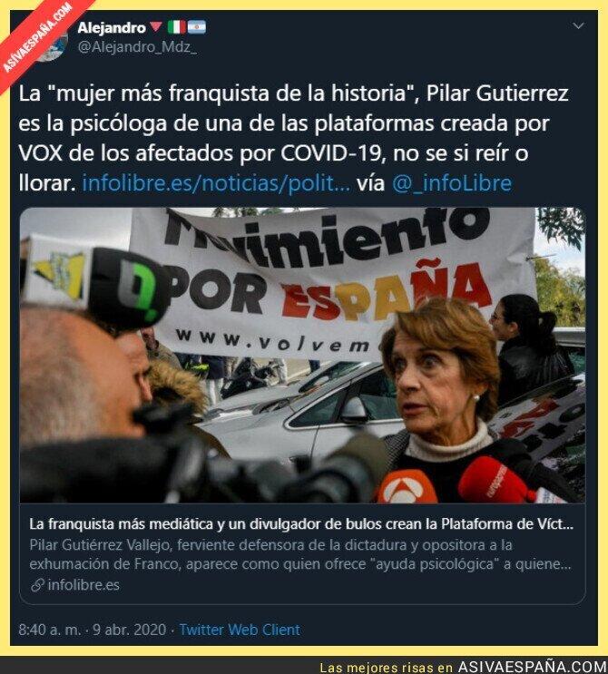 142768 - La mujer más franquista es la psicóloga de la plataforma de vox