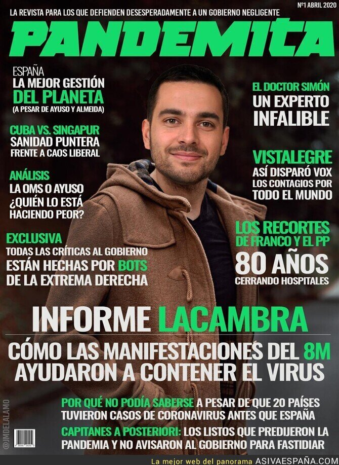 143457 - El último artículo de Antonio Maes...digo, Miguel Lacambra