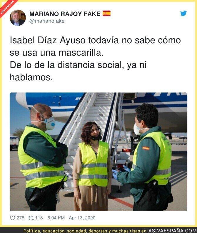 143818 - Menudo ejemplo está dando Isabel Díaz Ayuso