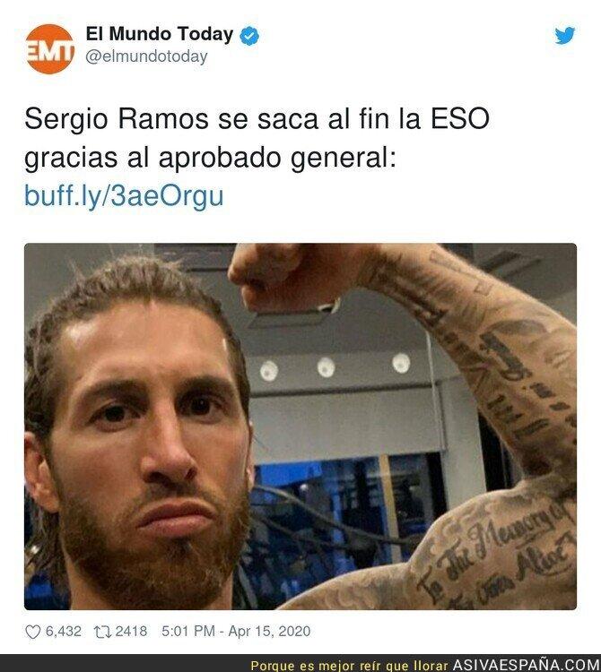 144273 - Sergio es el más feliz de todos