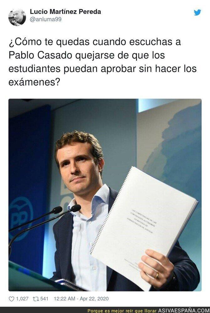 145714 - Muy irónico lo de Pablo Casado