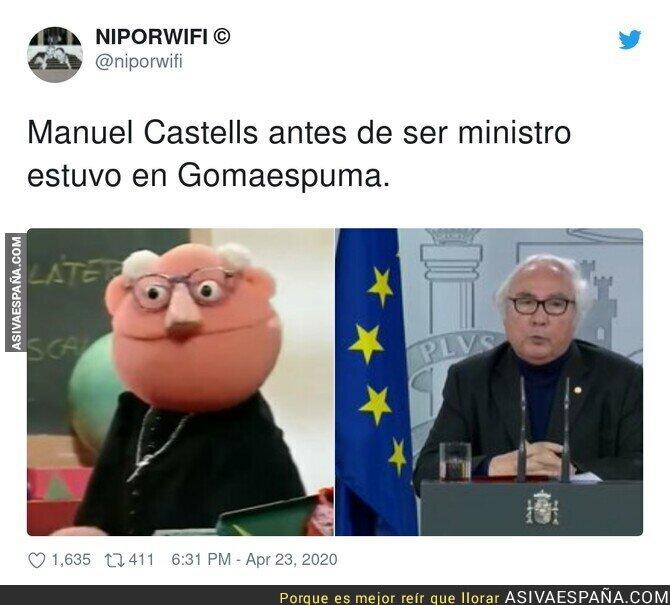 146014 - El pasado de Manuel Castells sale a la luz