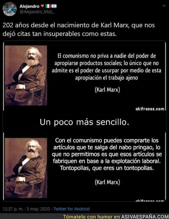 147764 - 202 años de la muerte de Karl Marx
