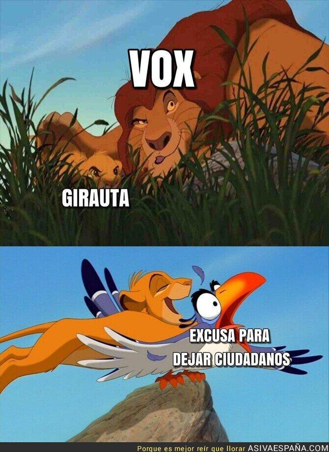 147893 - Juan Carlos Girauta ha encontrado la excusa perfecta para irse a VOX