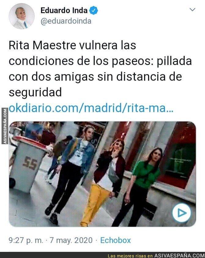 148091 - Okdiario pilla a Rita Maestre vestida