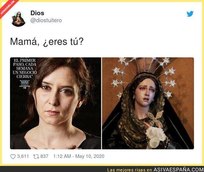 148414 - Isabel Díaz Ayuso jugando con el drama