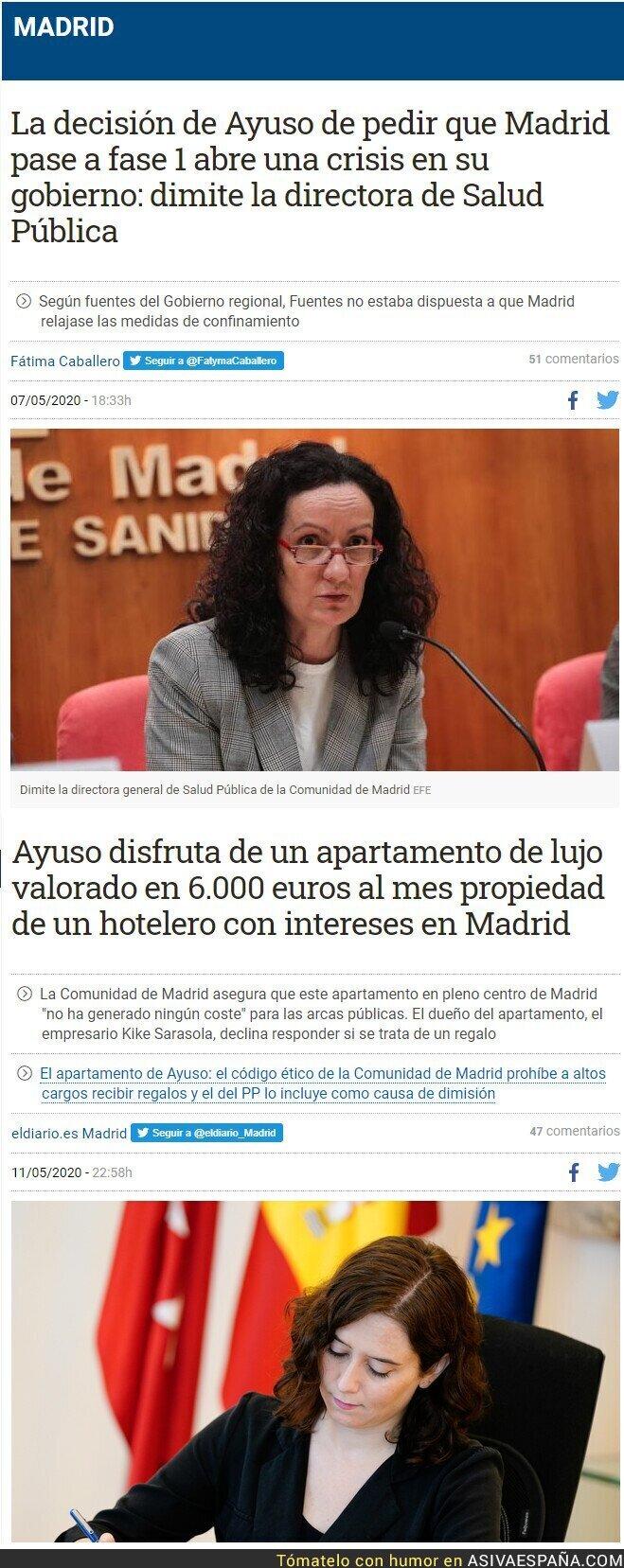 148486 - Dos noticias juntas sobre la Comunidad de Madrid se leen mejor