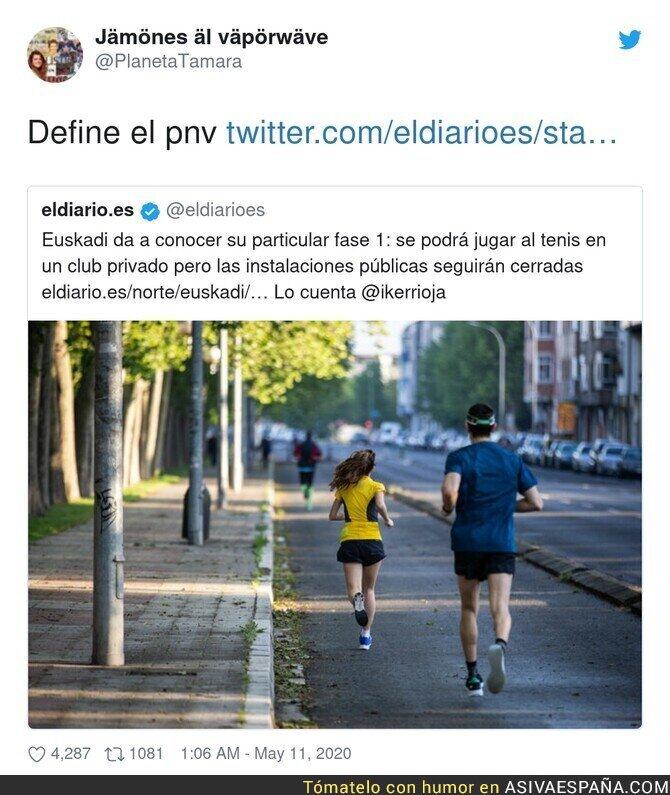 148507 - No se puede definir mejor la derecha en el País Vasco