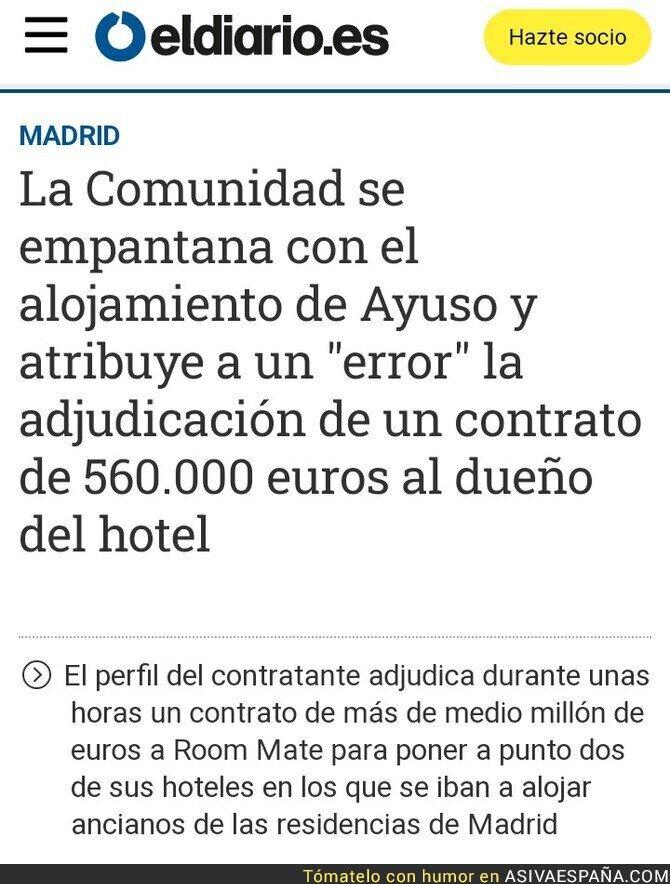 148570 - Qué casualidad un error que beneficiaba a la empresa hotelera que la hospeda